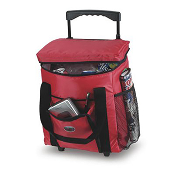 24 Can Ice Box Rolling Cooler - Bags
