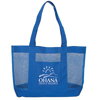 Color Accents Mesh Tote - Bags