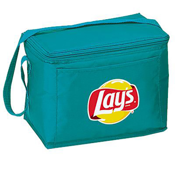 Basic 6 Can Nylon Cooler  - Bags