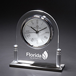 Acrylic Arch Desktop Clock