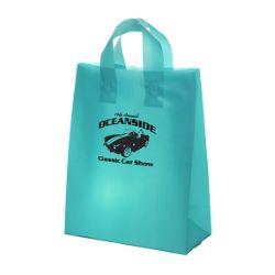 Color Loop Handle Plastic Bag