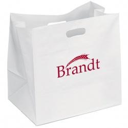 High-Density White Die Cut Handle Bag