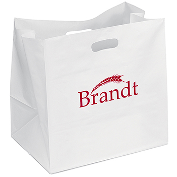 High-Density White Die Cut Handle Bag - Bags