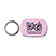 Soft-Touch Vinyl Key Tag - Travel Accessories & Luggage