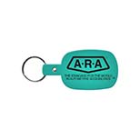 Rounded Rectangle Vinyl Key Tag