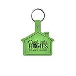 House-Shaped Key Tag
