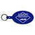 Oval-Shaped Flexible Key Tag - Travel Accessories & Luggage