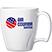 Swirl Design Sculptured Mug  - Mugs Drinkware