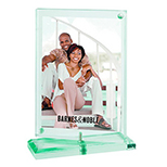 Two-Sided Swivel Photo Frame