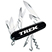 Eight-Function Swiss Army Knife - Tools Knives Flashlights