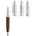 Leather Barrel Rollerball Pen - Pens Pencils Markers