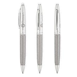 Woven Steel Ballpoint Pen
