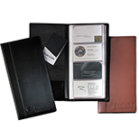 Leather Business Card Organizer