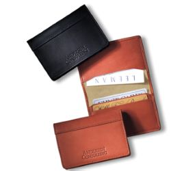 Soft Leather Business Card Case