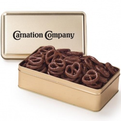 Chocolate Covered Pretzels Tin