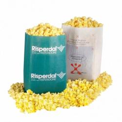 Microwave  Popcorn in a Custom                                                                                                                Printed Bag