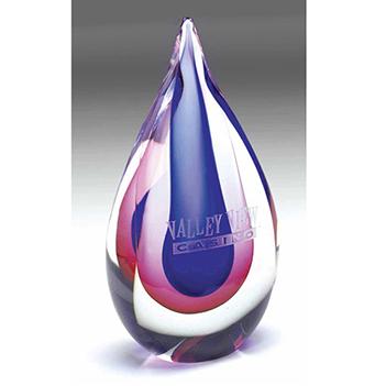 Teardrop Fusion Award - Awards Motivation Gifts