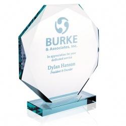 Jade Glass Octagon Award