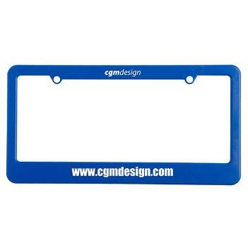 License Plate Frame - Tools Knives Flashlights