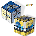 Rubik's 4 Panel  Mini Custom Cube