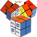 Rubik's Four-Panel Full Stock Cube