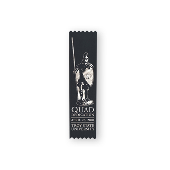"Custom Ribbon, 2"" x 8"" - Awards Motivation Gifts"