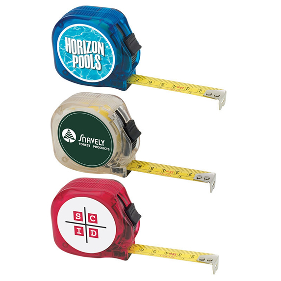 Translucent 12 Ft. Tape Measure - Tools Knives Flashlights