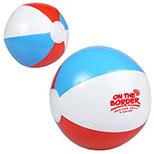 Red, White and Blue Beach Ball