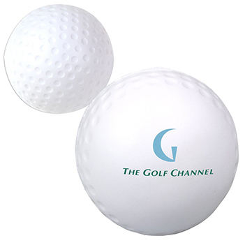 Golf Ball Stress Reliever - Puzzles, Toys & Games