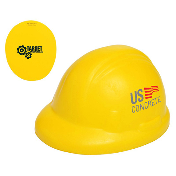Hard Hat Stress Toy - Puzzles, Toys & Games
