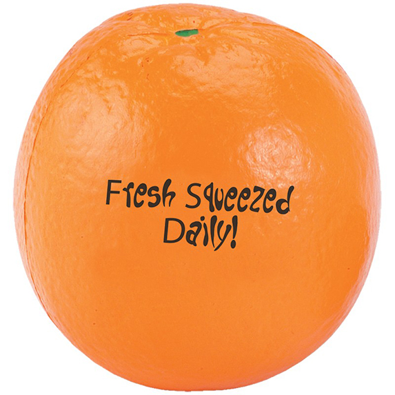 Orange Stress Ball - Puzzles, Toys & Games