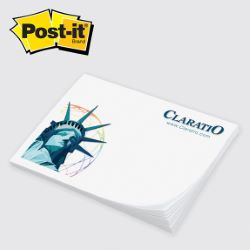 Full Color 50 Sheet Post-it Note Pad 3 x 4