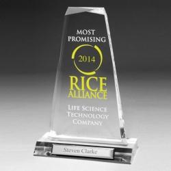 Clear Acrylic Pinnacle Award