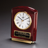Cornell Rosewood Table Clock