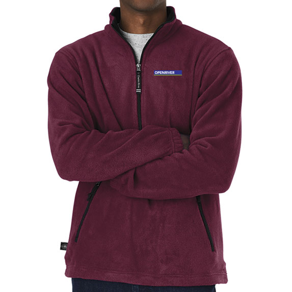 Adirondack Fleece Pullover by Charles River - Apparel