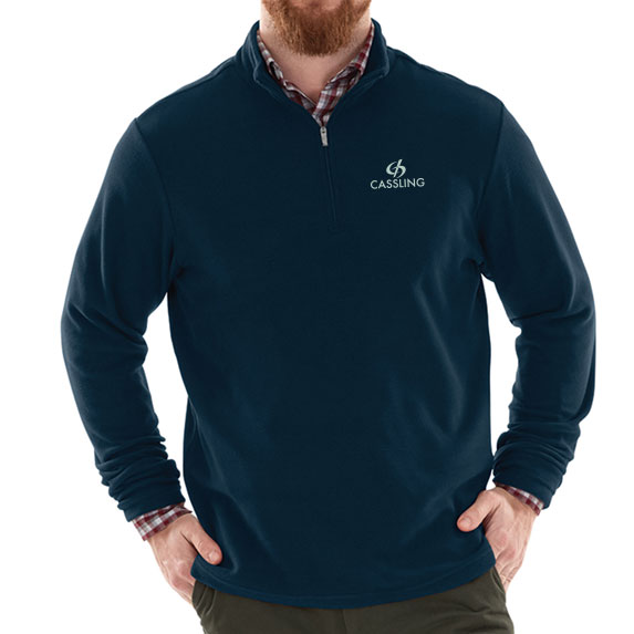 Freeport Microfleece Pullover by Charles River - Apparel