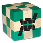 Wooden Cube Puzzle