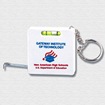 39 Tape Measure with Level and Key Chain