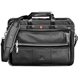 Wenger Double Hold Leather Laptop Brief