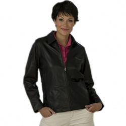 Women's Leather Jacket - 100% Lambskin
