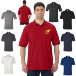 Stain Resistant Men's 50/50 Polo by Jerzees