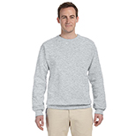 Men's Crewneck Sweatshirt - Neutrals/Heathers by Jerzees