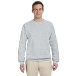 Men's Crewneck Sweatshirt - Neutrals/Heathers by Jerzees