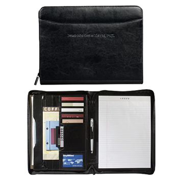 Renaissance Zippered Padfolio - Padfolios, Journals & Jotters