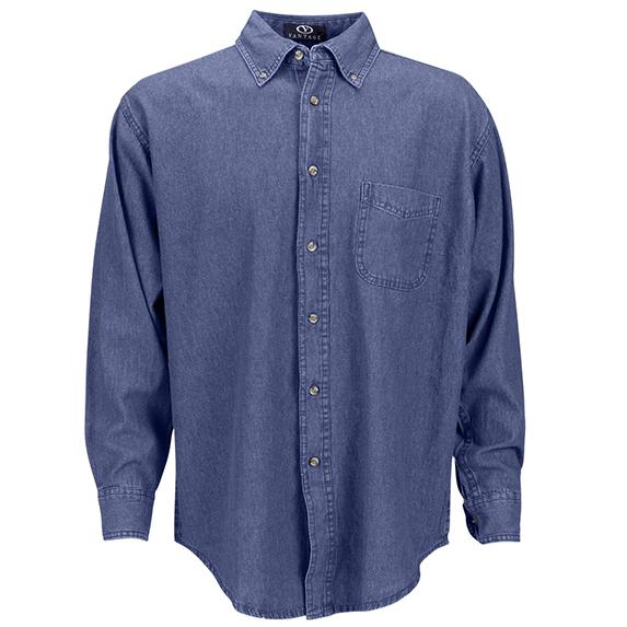 Men's Classic Denim Shirt - Apparel