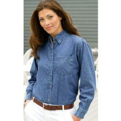 Women's Classic Denim Shirt