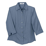 Women's Easy-Care 3/4 Sleeve French Twill Shirt