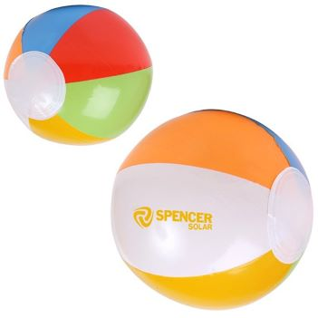 "16"" Multi- Color Beach Ball - Outdoor Sports Survival"