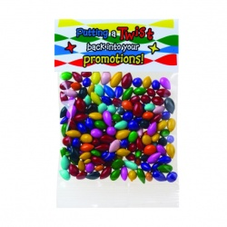 Chocolate Covered Sunflower Seeds in Header Bag