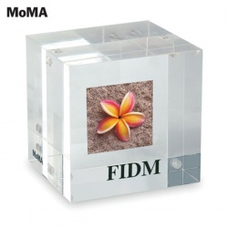 Two-Sided Photo Cube/Paperweight